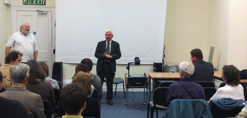 Geoff Smith talk at Bath Kaposvár Twinning Association