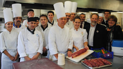 Students celebrate links with Hungarian catering college
