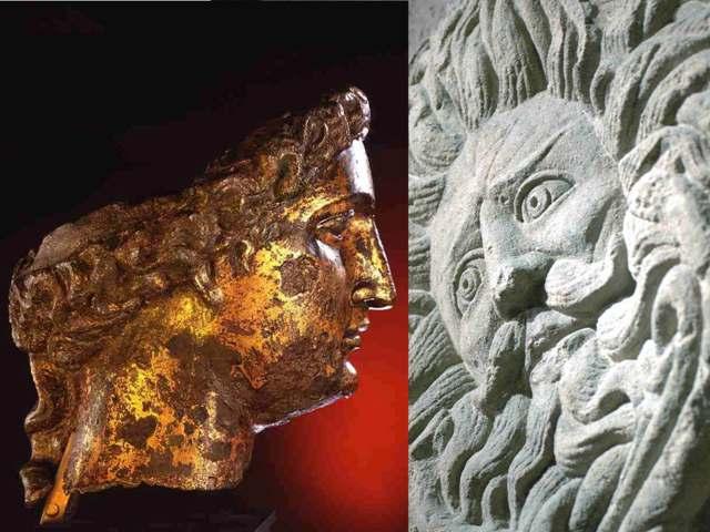 The Goddess Sul-Minerva and the Gorgon's Head
