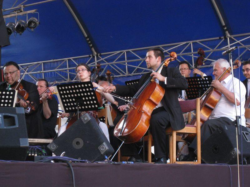 Kaposvár Philharmonia opening concert, painters festival 2010 conducted by Jason Thornton